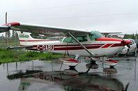 C-GABU @ CYHU - Cessna 172N Skyhawk [172-72868] St. Hubert~C 17/06/2005 - by Ray Barber