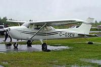 C-GSEN @ CYHU - Cessna 172M Skyhawk [172-64779] St. Hubert~C 17/06/2005 - by Ray Barber