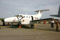 77 @ LFRH - Embraer EMB-121AN Xingu, Lann Bihoué Air Base (LFRH-LRT) Open day 2012 - by Alexander Todt
