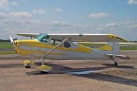 N1410D @ FTW - N1410D Cessna 170A FTW 5.5.06 - by Brian Johnstone