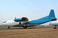 9U-BHO @ FAJS - Antonov An-12B [8345503] (Mango Airlines) Johannesburg-International~ZS 09/10/2003 - by Ray Barber