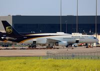 N472UP @ DFW - UPS ramp at DFW. - by paulp