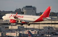 N690AV @ MIA - Brand new Avianca A319 with sharklets