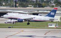 N715UW @ FLL - USAirways A319
