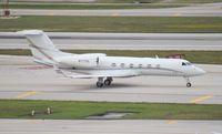 N717DX @ FLL - Gulfstream G450