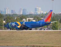 N727SW @ MCO - Southwest Battle Born Nevada One 737-700