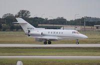 N728TA @ ORL - Hawker 800XP