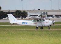 N737QK @ PBI - Cessna 172N