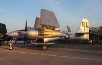 N747MX @ LAL - Grumman F7F-3 Tiger Cat La Patrona
