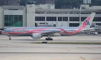 N759AN @ MIA - American Breast Cancer Awareness 777-200