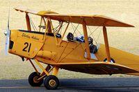 VH-CKF @ YPJT - VH-CKF (A17-421), 1941 De Havilland Australia DH-82A Tiger Moth, c/n: DHA596