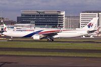 9M-MTI @ YSSY - 2012 Airbus A330-323(X), c/n: 1337 at Sydney - by Terry Fletcher