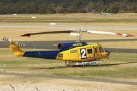 N49732 @ YPJT - 1976 Bell 214B-1, c/n: 28005 - firefighting base at Jandakot