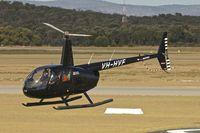 VH-HVF @ YPJT - 2005 Robinson R44 II, c/n: 10857 at Jandakot