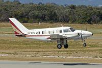 VH-MYG @ YPJT - 1973 Piper PA-31 Turbo Navajo B, c/n: 31-7300976