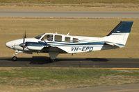 VH-EPO @ YPJT - Hawker Beechcraft Corp G58, c/n: TH-2335