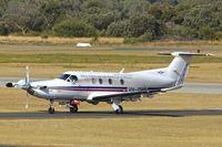 VH-OWB @ YPJT - 2009 Pilatus PC-12/47E, c/n: 1104 of RFDS at Jandakot