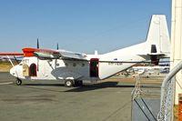 VH-TEM @ YPJT - 1981 CASA C-212-CC, c/n: 138 of Fugro Aerial Survey
