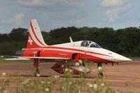 J-3091 @ EGVA - Arriving RIAT 2012 - by John Coates
