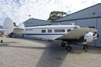 VH-ATX @ YPJT - 1964 Beech H18, c/n: BA-704 at Jandakot