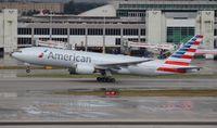 N770AN @ MIA - American 777-200 repainted in new colors