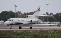 N770JD @ ORL - Falcon 50