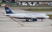 N770UW @ FLL - US Airways A319