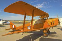 VH-FAS @ YPJT - 1942 De Havilland Australia DH-82A Tiger Moth, c/n: DHA34  Serial A17-37