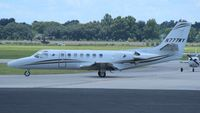 N777WY @ ORL - Citation 560 - by Florida Metal