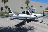 N780MD - Cirrus SR-22T at the Orange County Convention Center for NBAA 2012