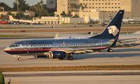 N784XA @ MIA - Aeromexico 737-700