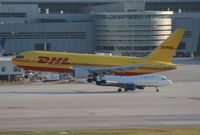N790AX @ MIA - DHL 767-200