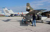 N802A @ YIP - Cessna O-2 Skymaster - by Florida Metal
