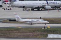 N808QS @ TPA - Net Jets C560