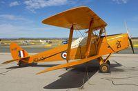 VH-CKF @ YPJT - VH-CKF (A17-421), 1941 De Havilland Australia DH-82A Tiger Moth, c/n: DHA596 at Perth Jandakot