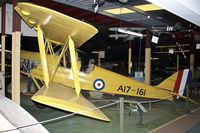 A17-161 - De Havilland Australia DH-82A Tiger Moth, c/n: DHA162  at Perth Aviation Heritage Museum - by Terry Fletcher
