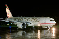 A6-DDB @ LOWG - First visit from Etihad Cargo B777-200F at Graz Airport - by Stefan Mager