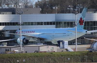 C-FNNQ @ KPAE - Air Canada. 777-333ER. C-FNNQ cn 43251 1154. Delivery to Air Canada. Everett - Snohomish County Paine Field (PAE KPAE). Image © Brian McBride. 22 November 2013 - by Brian McBride