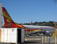 B-5687 @ KBFI - Hainan Airlines. 737-84P. B-5687 cn 38157. Pre delivery. Seattle - Boeing Field King County International (BFI KBFI). Image © Brian McBride. 01 September 2012 - by Brian McBride