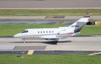 N815QS @ TPA - Net Jets Hawker 800XP