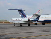 N822AA @ YIP - USA jet Falcon 20