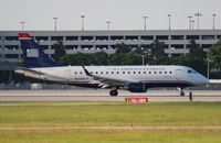 N822MD @ PBI - US Airways E170