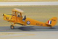 VH-FAS @ YPJT - 1942 De Havilland Australia DH-82A Tiger Moth, c/n: DHA34 at Jankadot
