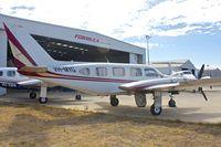 VH-MYG @ YPJT - 1973 Piper PA-31 Turbo Navajo B, c/n: 31-7300976 at Jandakot
