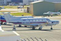 VH-VWO @ YPJT - 2001 Pilatus PC-12/45, c/n: 400 at Jandakot
