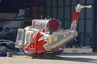 C-FXNI @ YPJT - Bell 214B-1, c/n: 28022 at Jandakot , Perth , Western Australia - by Terry Fletcher