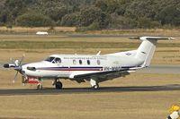 VH-MWO @ YPJT - 2001 Pilatus PC-12/45, c/n: 379 at Jandakot