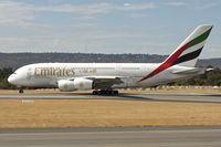A6-EDP @ YPPH - The visit of Emirates '2011 Airbus A380-861, c/n: 077