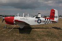 N34SY @ OSH - 1956 Beech D-45, c/n: BG-246 - by Timothy Aanerud