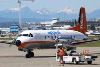 C-FYDU @ CYVR - Air North. Hawker Siddeley HS-748 Srs2A273. C-FYDU cn 1694. Vancouver - International (YVR CYVR). Image © Brian McBride. 30 June 2013 - by Brian McBride